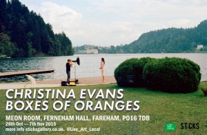 3 exhibitions one gallery -- Christina-Evans-Boxes-of-Oranges