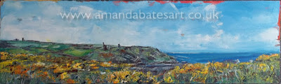 Engine houses and Gorse (Botallack), oil, £230