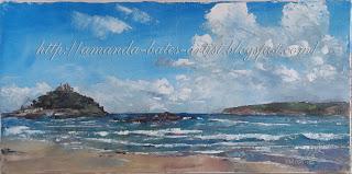Mount's Bay, oil, £250