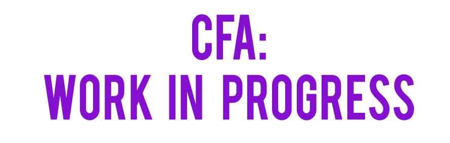 CFA----work-in-progress-title