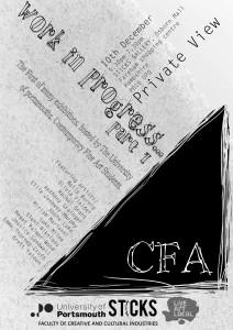 sticks CFA show flyer