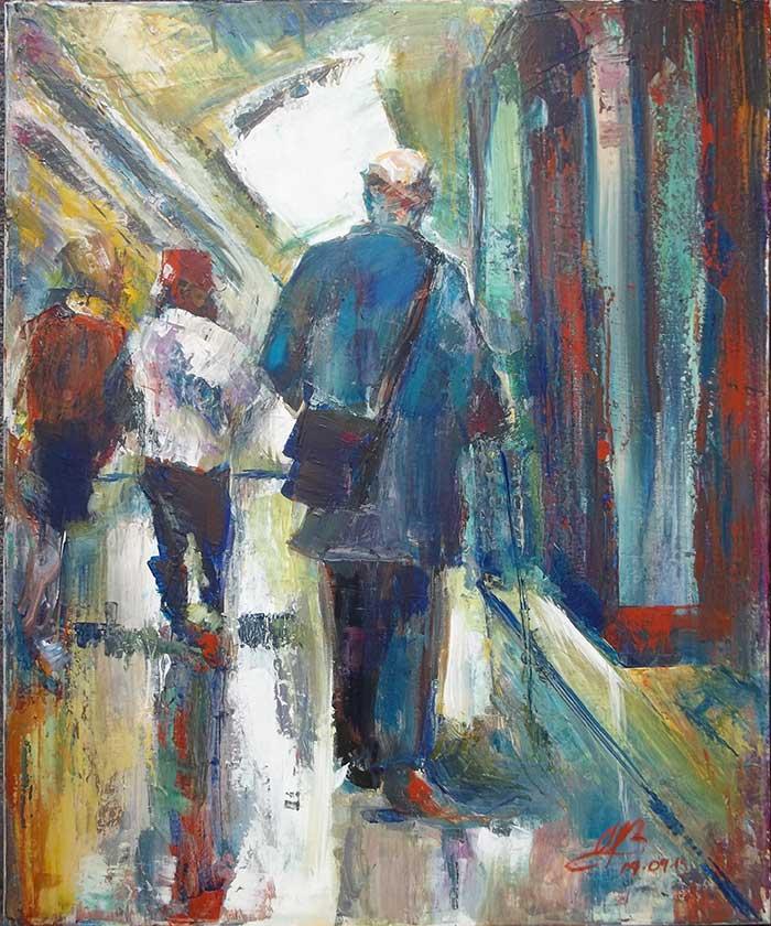 WhereTheStreetsHaveNoSky (acrylic painting)