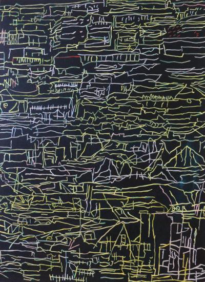 City Lines, oil on canvas 76x56cm  £300