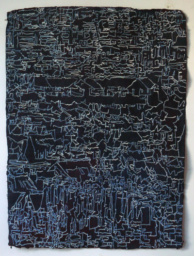 Sheffield Drawing, Acrylic on paper 76x56cm £200