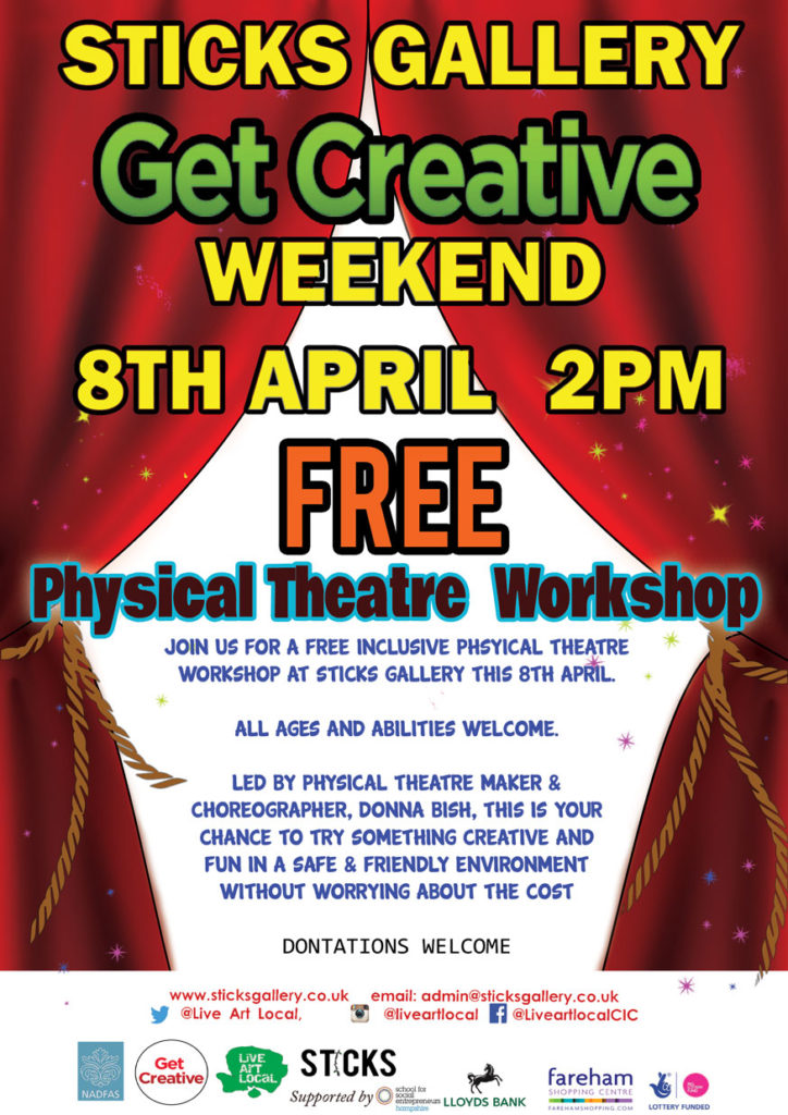 Get Creative Inclusive physical theatre workshops