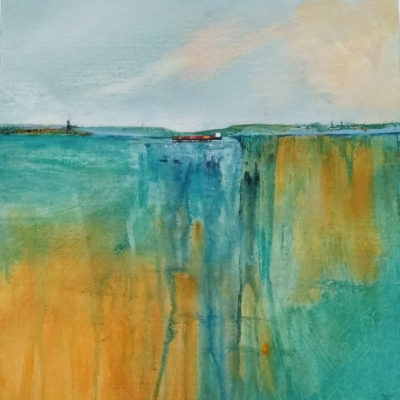 Carol PArsons, 2017, Acrylic. £100 (30cm x 30cm)
