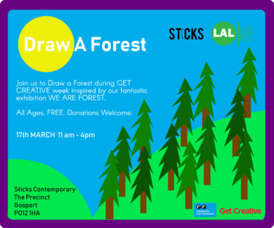 DRAW A FOREST IMAGE